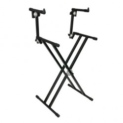 DAP Audio Keyboard Stand Double Layer MKII