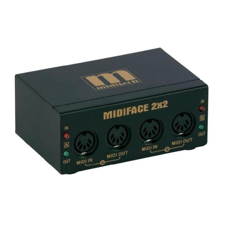 MidiTech MidiFace 2x2 USB