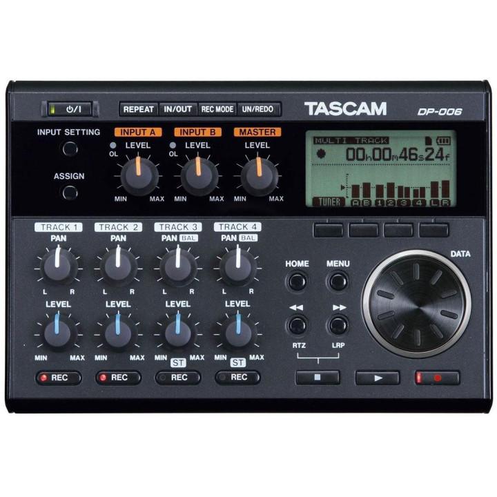 Tascam DP-006 + Karta 2 GB