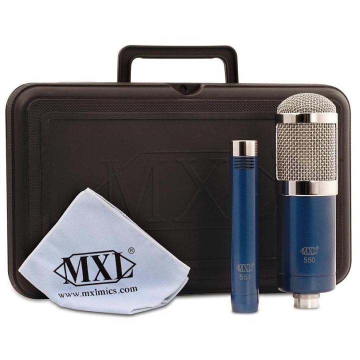 MXL 550 / 551 Zestaw Mikrofonów