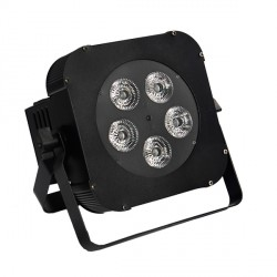 LightGo! SLIM PAR PRO BAT 4in1 5x10W RGBW IR battery