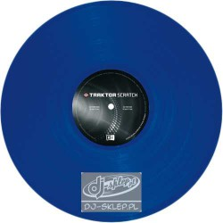 Native Instruments Traktor Vinyl MKII Blue
