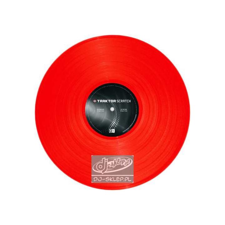 Native Instruments Traktor Vinyl MKII Red