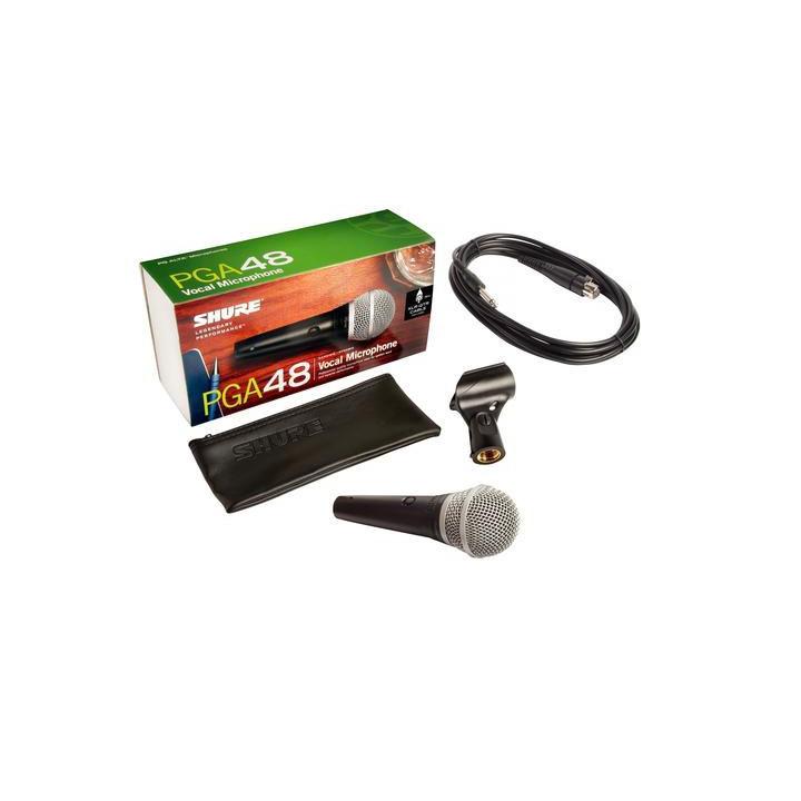Shure PG48 i Kabel XLR