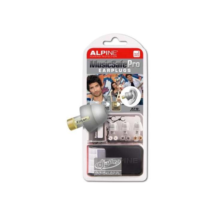 Alpine Music Safe PRO srebrne