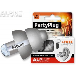 Alpine Party Plug srebrne