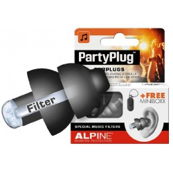 Alpine Party Plug czarne