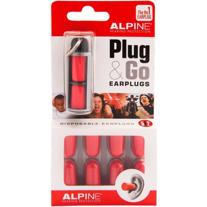 Alpine Zatyczki do uszu Plug&Go