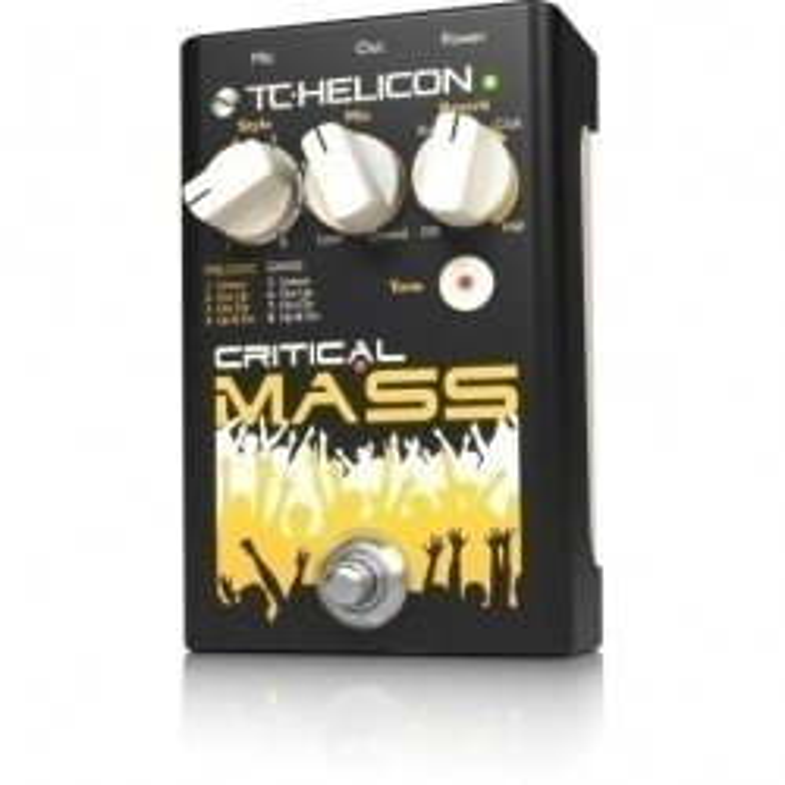TC-Helicon Critical Mass Reverb/Tone