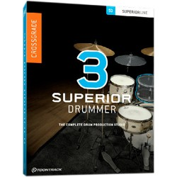 Toontrack Crossgrade z EZdrummer 2.0 do Superior 3.0