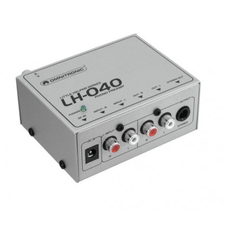 Omnitronic LH-040 przedwzmacniacz phono