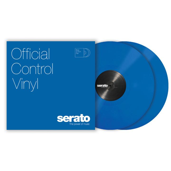 Serato Performance Vinyl Blue Para