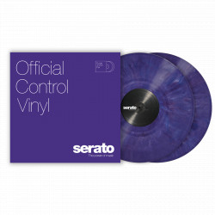 Serato Performance Vinyl Deep Purple (para)