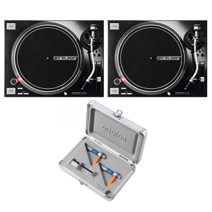 2 x RP7000mk2 + Ortofon CC MkII DJ Twin