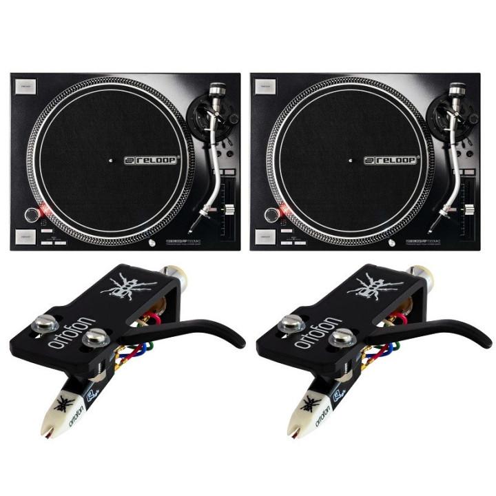 zestaw dla DJ reloop ortofon qbert