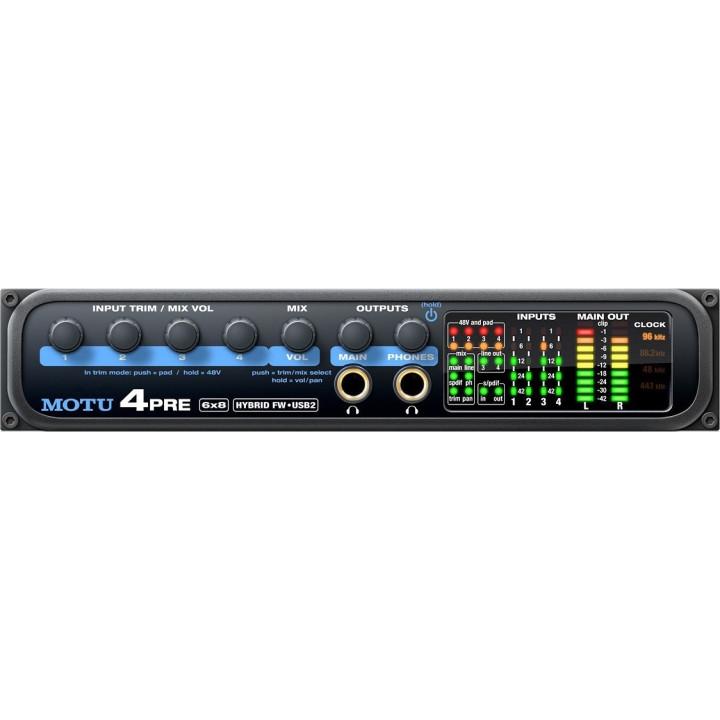 MOTU 4Pre USB/FW