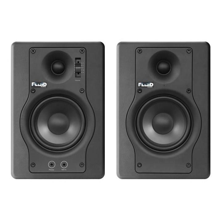 Fluid Audio F4 czarne [para]