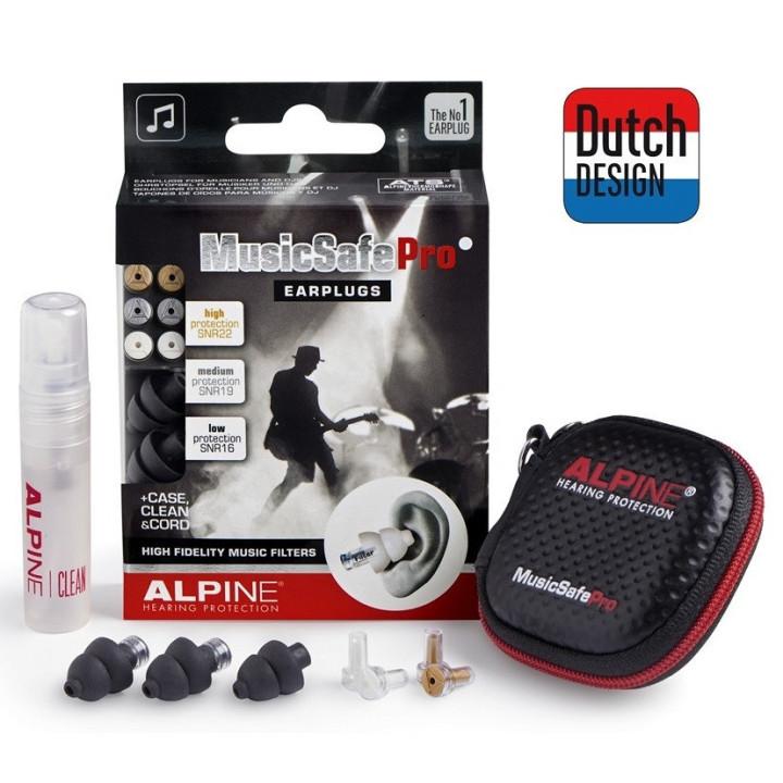 Alpine Music Safe PRO czarne