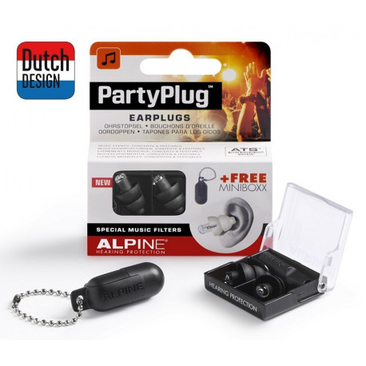 Alpine Party Plug czarne