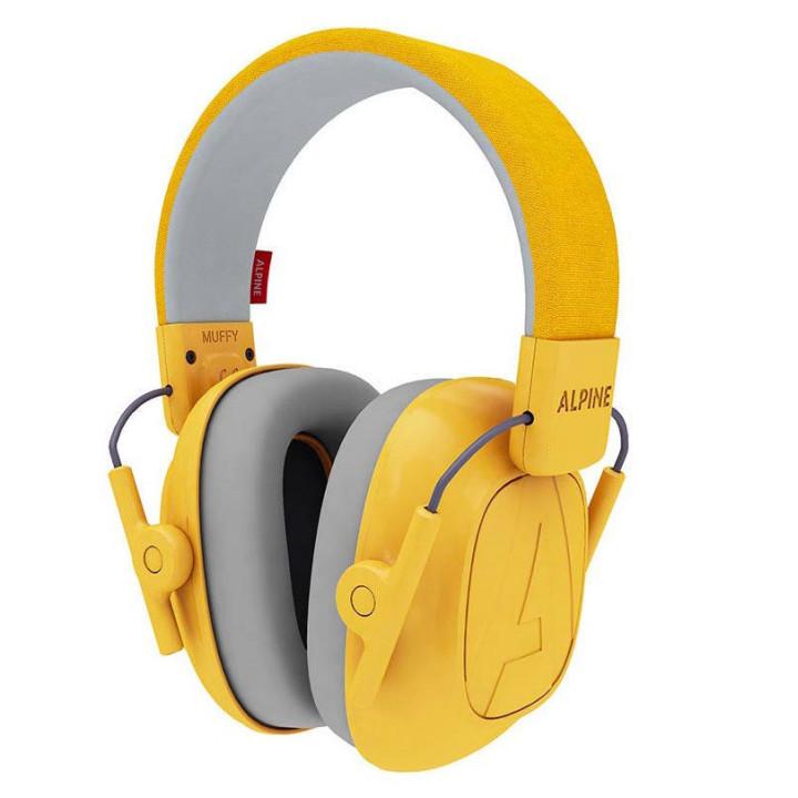 Nauszniki Alpine Muffy Kids żółte