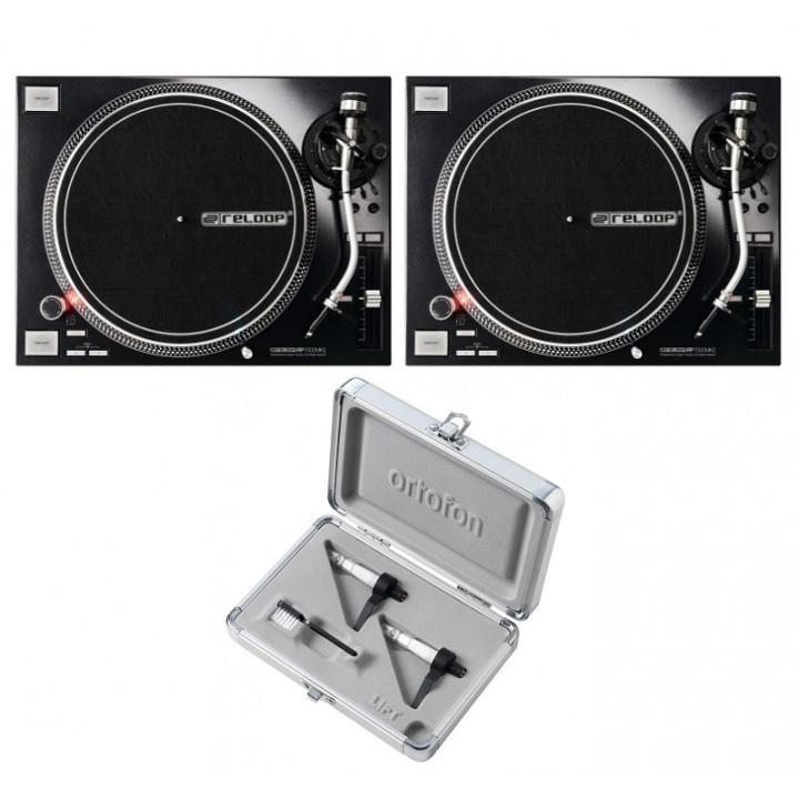2 x RP7000mk2 + Ortofon CC MkII Scratch