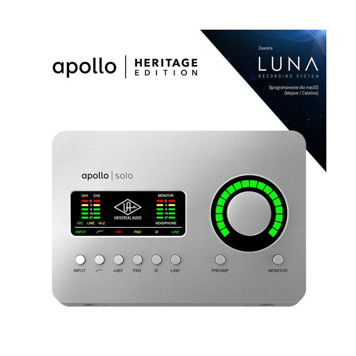 Universal Audio Apollo SOLO HE