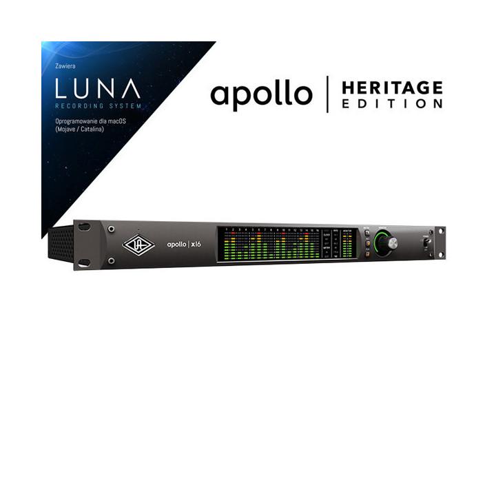 Universal Audio Apollo X16 HE