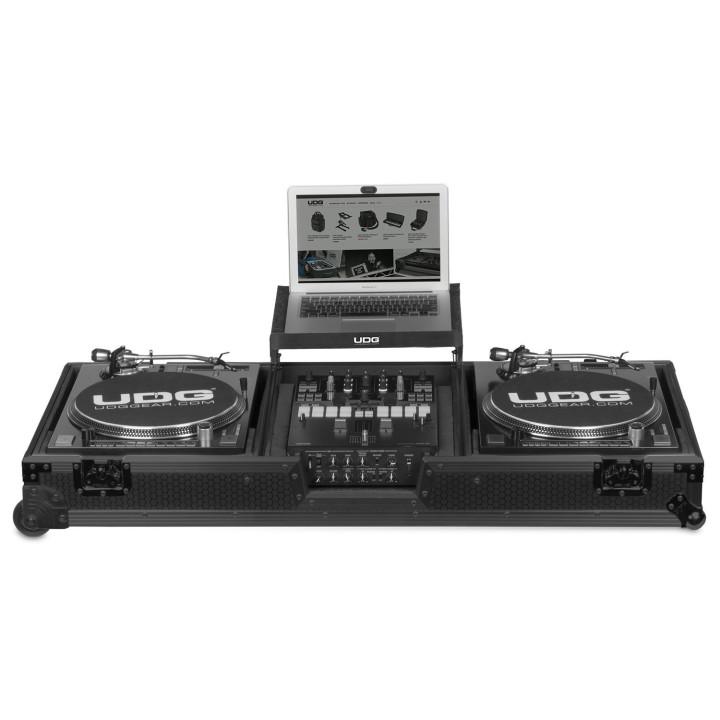 UDG Ultimate Flight Case Set Turntable Mixer Black Plus