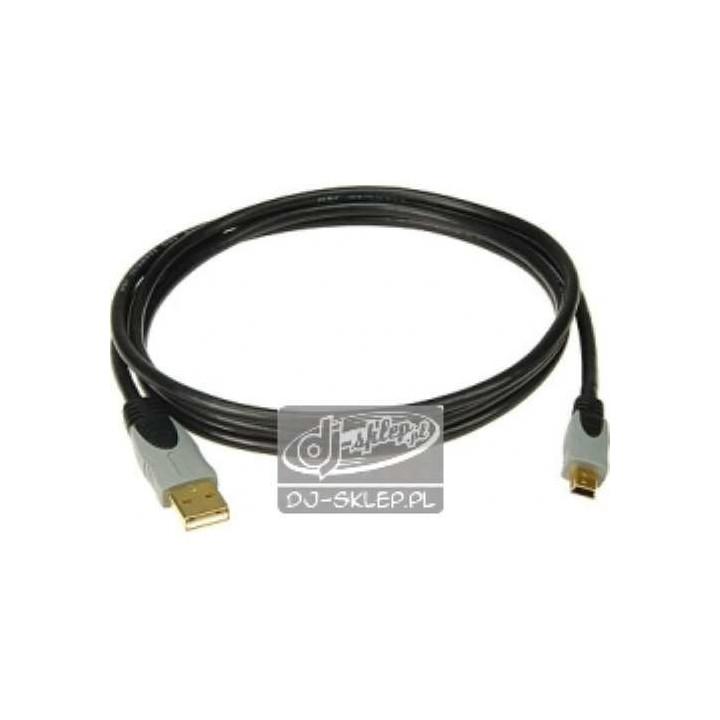 Klotz high speed USB 2.0 A-B mini 3 m