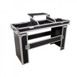 ROADINGER Console Road Table 2xTT With Laptop Tray