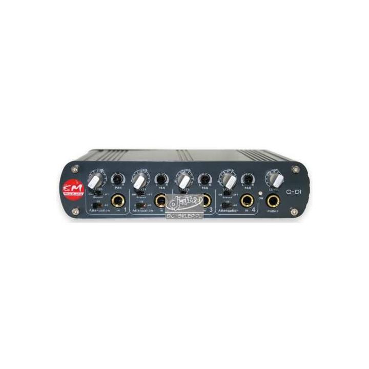 SM Pro Audio Q-DI 4-kanałowy Di-Box