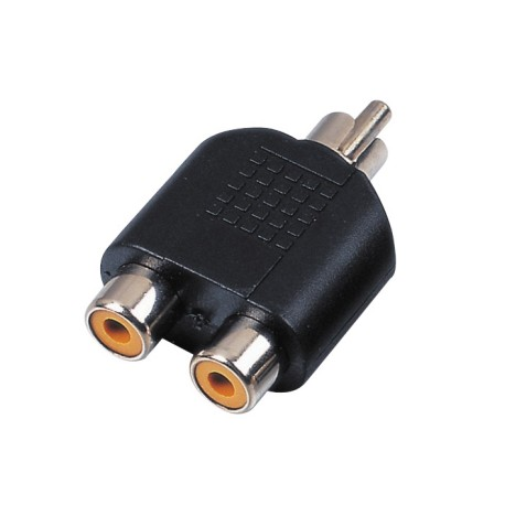 Reloop adapter 2x RCA F / RCA M