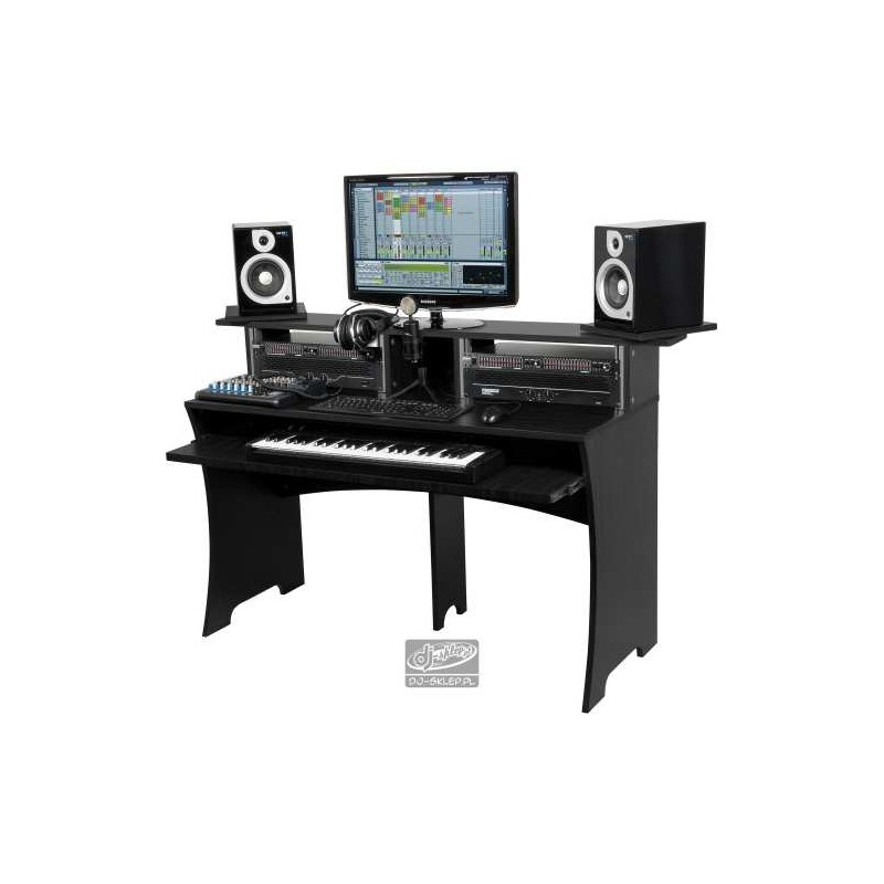 pin glorious dj workbench studio desk 223242 on pinterest. Black Bedroom Furniture Sets. Home Design Ideas