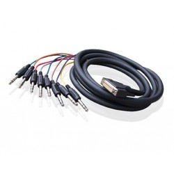 Alva kabel D-Sub25 - 8 x TRS 3 m