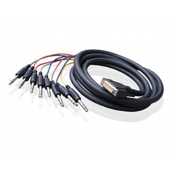Alva kabel D-Sub25 - 8 x TRS 5 m