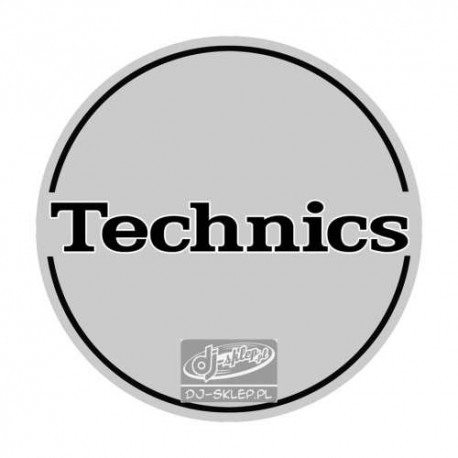 Technics Silver Black Logo