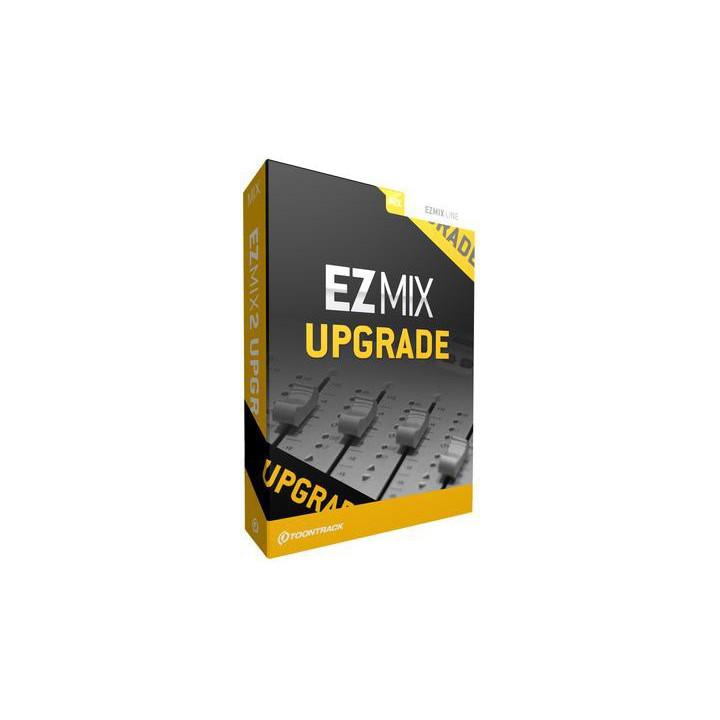 Toontrack Upgrade EZmix do EZmix 2