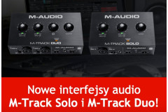 Nowe interfejsy M-Audio !